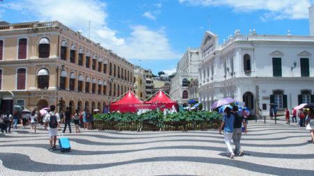 セナド広場(議事亭前地/Senado Square) – マカオ世界遺産