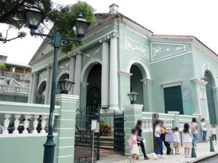 ドン・ペドロ5世劇場(伯多祿五世劇院/Dom Pedro V Theatre) – マカオ世界遺産