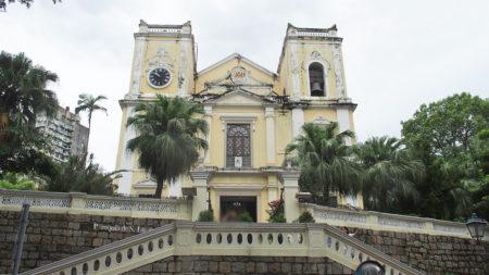 聖ローレンス教会(聖老楞佐教堂/St. Lawrence's Church) – マカオ世界遺産