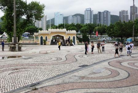 バラ広場(媽閣廟前地/Barra Square) – マカオ世界遺産