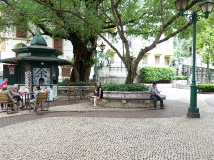 リラウ広場(亞婆井前地/Lilau Square) – マカオ世界遺産