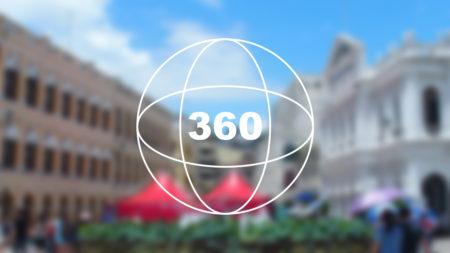 360°カメラで見る!マカオの世界遺産「セナド広場(議事亭前地/Senado Square)」