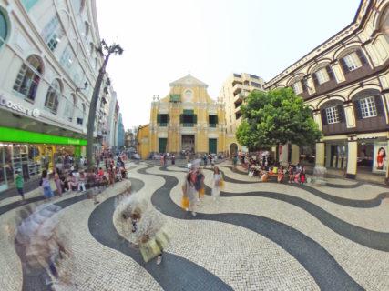 聖ドミニコ広場(板樟堂前地/St. Dominic's Square) – マカオ世界遺産