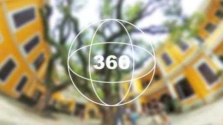 360°カメラで見る!マカオの観光地「仁慈堂婆仔屋(Albergue SCM)」