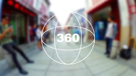 360°カメラで見る!マカオの観光地「福隆新街(Rua de Felicidade)」