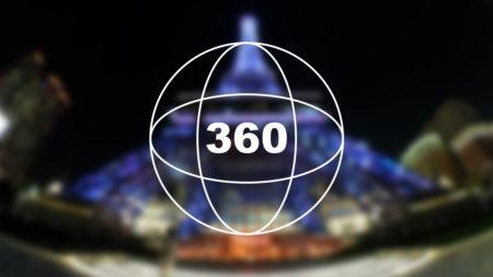 360°カメラで見る!マカオの夜「ザ パリジャン マカオ」周辺