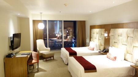 シティ・オブ・ドリームズ – ザ・カウントダウンホテルのお部屋レビュー。