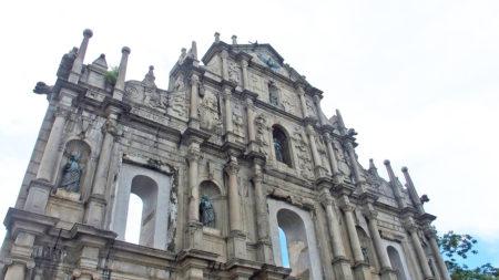 聖ポール天主堂跡(大三巴牌坊/Ruins of St. Paul's) – マカオ世界遺産