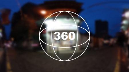 360°カメラで見る!マカオのオシャレお土産ショップ「O-Moon」の前