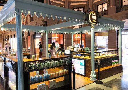 パリジャンにある「Elysee Bakery」でコーヒーブレイク。