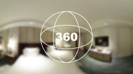 360°カメラで見る!マカオの5星ホテル「フォーシーズンズ」のお部屋