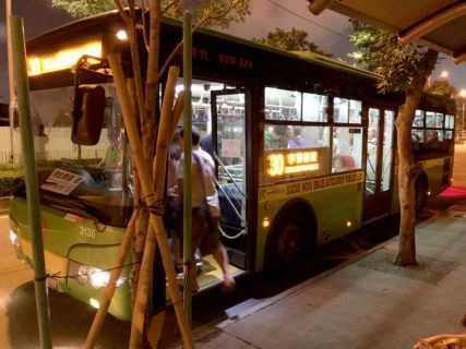 超簡単!!マカオでの移動はバスを使おう。