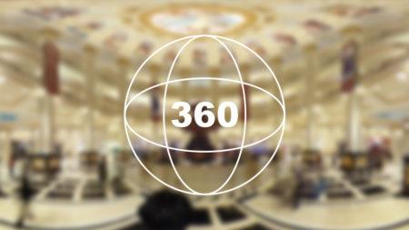 360°カメラで見る!「パリジャンホテル」の豪華すぎるエントランス