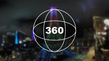 360°カメラで見る!パリジャンのエッフェル塔