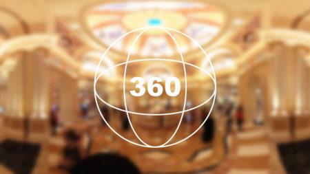 360°カメラで見る!まるで別世界「ヴェネチアンホテル」