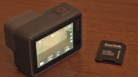 GoProの撮影準備をしよう