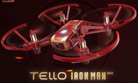 【Tello】アイアンマンデザインのTelloがDJIから発売。アプリダウンロードで世界観を体験できる!