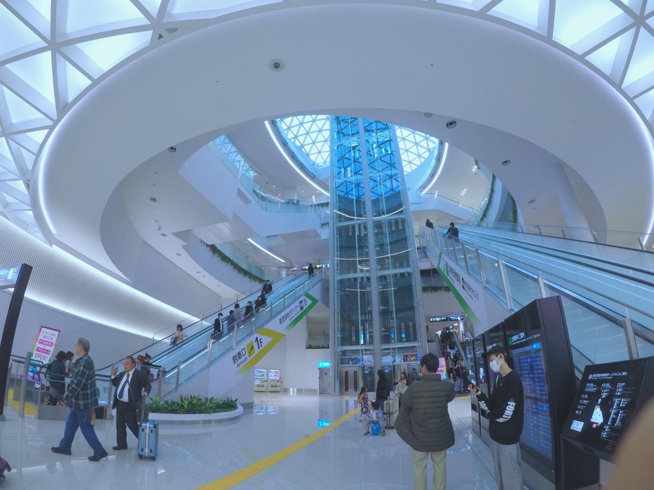 新・福岡空港!リニューアルしてより便利、完璧になった!