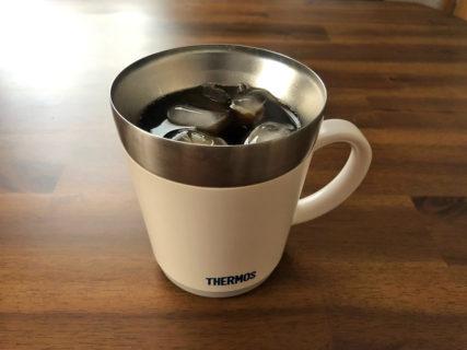 サーモス(THERMOS)保温マグカップは保冷も優秀。