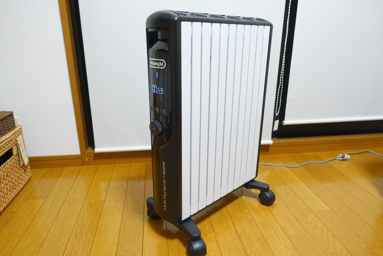 室温快適!自動ON・OFFが便利!デロンギ マルチダイナミックヒーターのレビュー