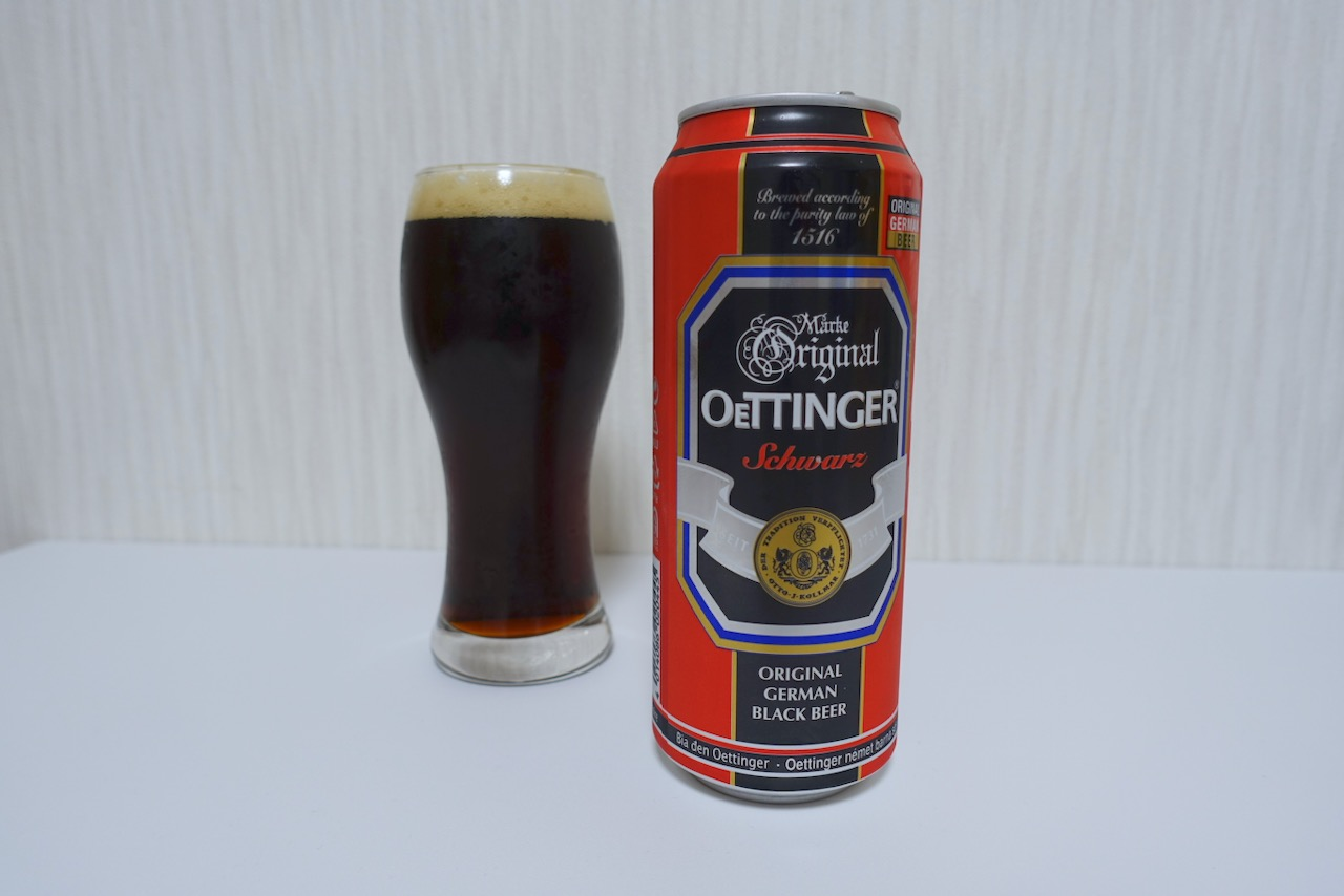 「エッティンガー・シュヴァルツ」ミュンヘン発祥の黒ビール。