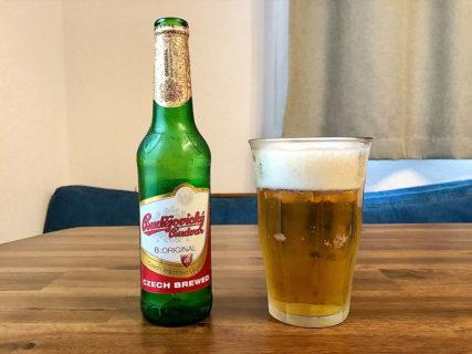 名前のクセが凄いチェコのビール「ブデヨビツキブドバー」飲んでみたよ。
