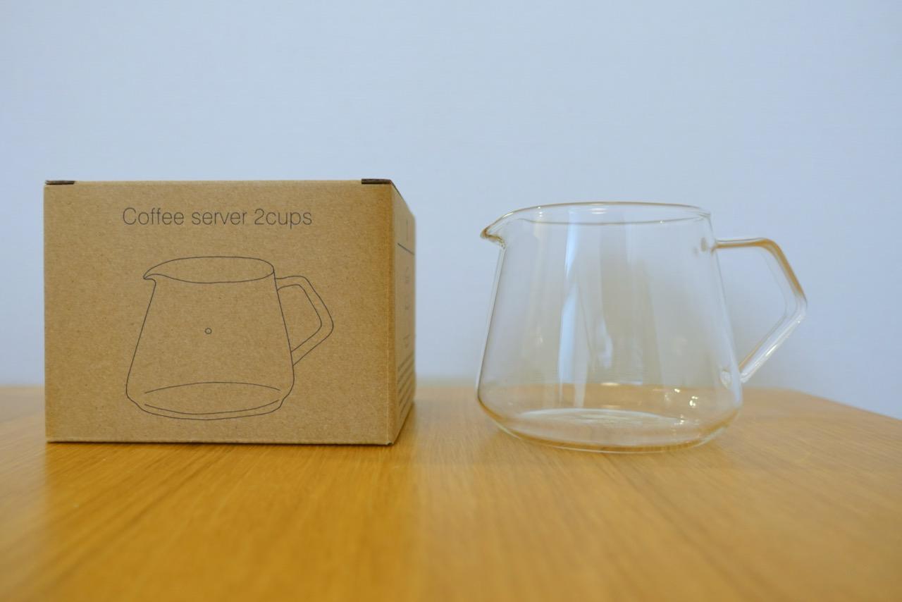 KINTOのコーヒーサーバー2cups(300ml)を買いました!