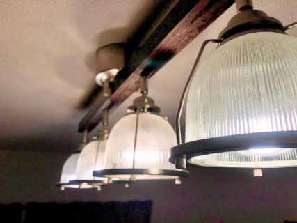 unicoでインダストリアルな照明「DINER4」を買いました。