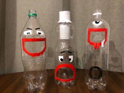 簡単!1歳児向けにペットボトルおもちゃを自作したよ。