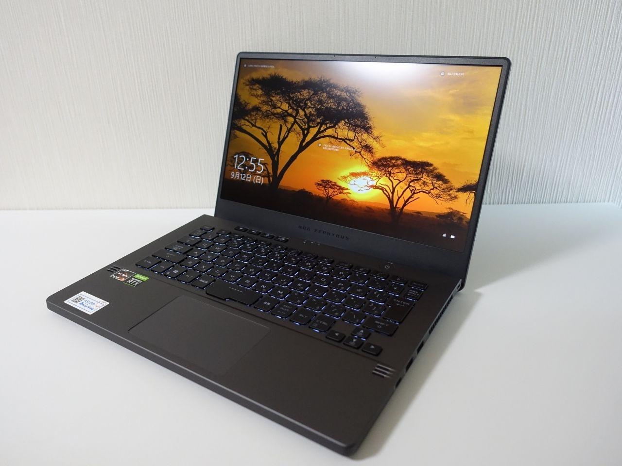 ASUS ROG ZEPHYRUS G14のレビュー。コンパクトで軽いのにパワフルなノートパソコン。